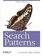 Search Patterns: Design for Discovery by…