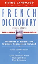 Basic French Dictionary (LL(R) Complete…