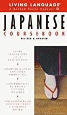 Basic Japanese Coursebook by Living Language