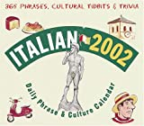Suffredini, Ana: Italian 2002 Daily Phrase and Culture Culture (LL(R) Daily Phrase Calendars)