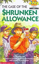 The Case of the Shrunken Allowance (Hello…