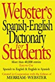 Merriam-Webster: Webster's Spanish-English Dictionary For Students (Turtleback School & Library Binding Edition) (Spanish Edition)