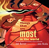 Barrett, Judi: Things That Are Most In The World (Turtleback School & Library Binding Edition)