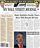 Tony Hendra: My Wall Street Journal