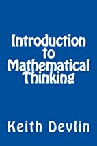 Introduction to Mathematical Thinking by…