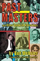 Past Masters: and Other Bookish Natterings…