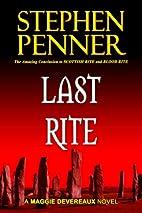 Last Rite: A Maggie Devereaux Mystery (#3)…