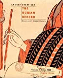 Andrea, Alfred J.: The Human Record: Sources of Global History