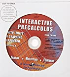Interactive 20. CD-ROM for…