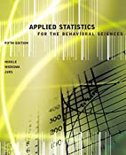 Applied Statistics for the Behavioral…