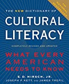 The new dictionary of cultural literacy by…