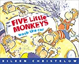Christelow, Eileen: Five Little Monkeys Wash the Car