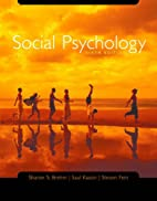 Social Psychology by Sharon S. Brehm