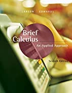 Brief Calculus: An Applied Approach by Ron…