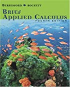 Brief Applied Calculus, Fourth Edition by…