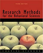 Research Methods for the Behavioral Sciences…