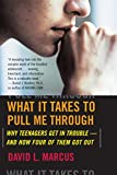 Marcus, David L.: What It Takes to Pull Me Through: Why Teenagers Get in Trouble And How Four of Them Got Out
