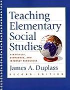 Teaching Elementary Social Studies:…