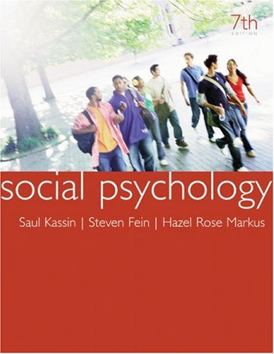 social-psychology-7th-edition