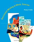 Successful Writing at Work: Concise by…