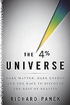 The 4 Percent Universe: Dark Matter, Dark…