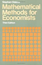 Mathematical Methods for Economists by…