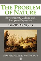 The Problem of Nature: Environment and…