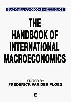 The Handbook of International Macroeconomics…