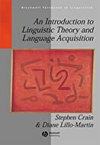 An Introduction to Linguistic Theory and…