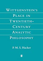 Wittgenstein's Place in Twentieth-Century…
