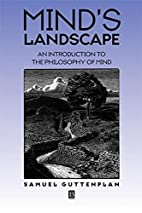 Mind's Landscape: An Introduction to…