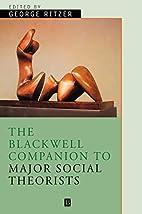 The Blackwell Companion to Major Social…