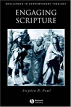 Engaging Scripture: A Model for Theological…