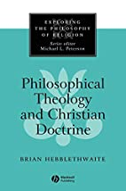 Philosophical Theology and Christian…