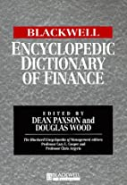 The Blackwell Encyclopedic Dictionary of…