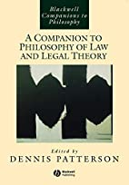 A Companion to Philosophy of Law and Legal…