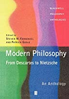 Modern Philosophy - From Descartes to…