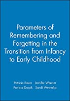 Parameters of remembering and forgetting in…