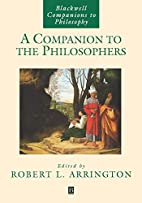 A Companion to the Philosophers by Robert L.…