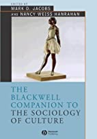 The Blackwell Companion to the Sociology of…