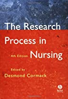 The Research Process in Nursing by Desmond…