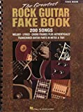 Hal Leonard Publishing Corporation: The Greatest Rock Guitar Fake Book