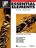 Essential Elements for Band: Bb Clarinet…