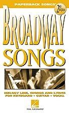 Broadway Songs (Paperback Songs) by Hal…