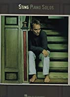 Sting Piano Solos (Piano Solos) by Sting