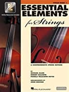Essential Elements for Strings: Violin Book…