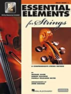 Essential Elements 2000 for Strings Plus…