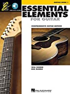 Essential Elements for Guitar - Book 1:…