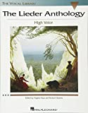 Walters, Richard: The Lieder Anthology High Voce Ed. V Saya and R. Walters, The Vocal Library