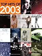 Top Hits of 2003: Piano, Vocal, and Guitar…
